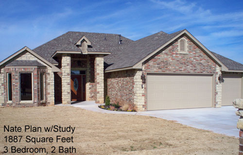 Nate Plan w/Study – 1887 Sq. Ft.