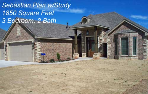 Sebastian Plan w/Study – 1875 Sq. Ft.